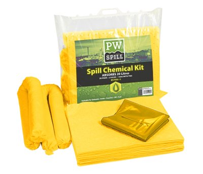 Kit de absorbtie substante chimice PW 20l
